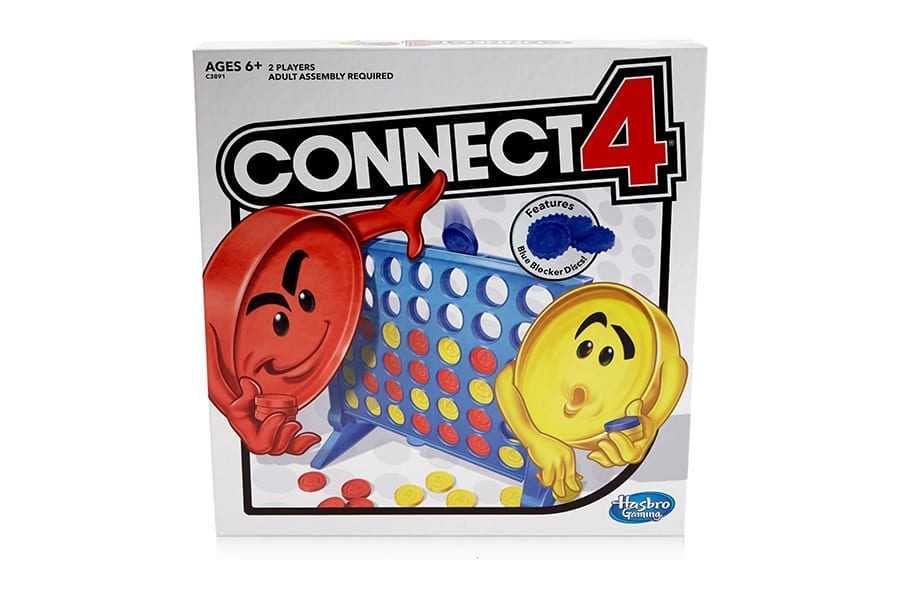Connect 4 Strategy Board Games for Camping