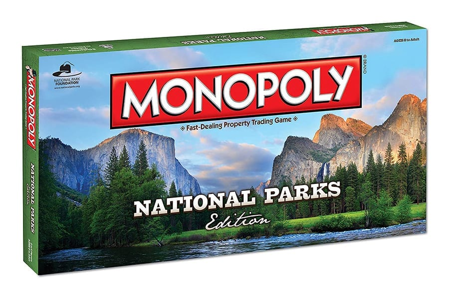 Monopoly National Parks Edition Games for Camping