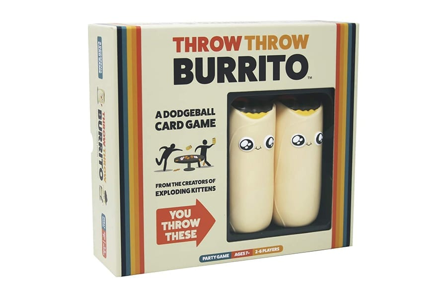 Throw Throw Burrito Games for Camping