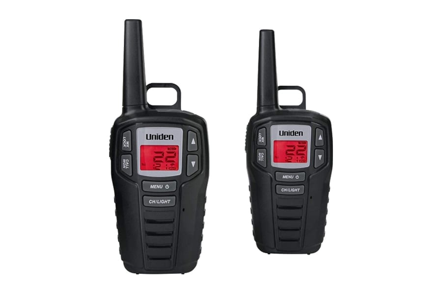 Uniden SX167 Walkie Talkies for Camping