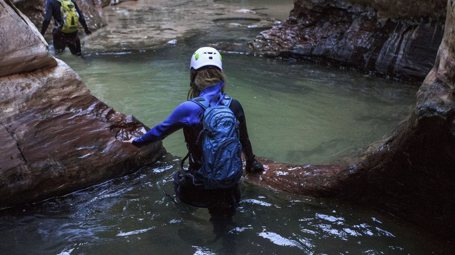 Canyoneering and Rock Climbing in Zion National Park