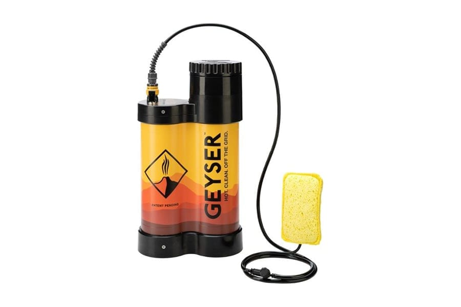 Geyser Systems Heated Portable Showers