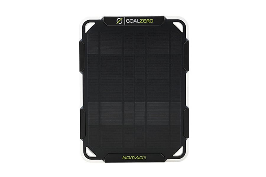Goal Zero Nomad 5 Portable Solar Panels for Camping