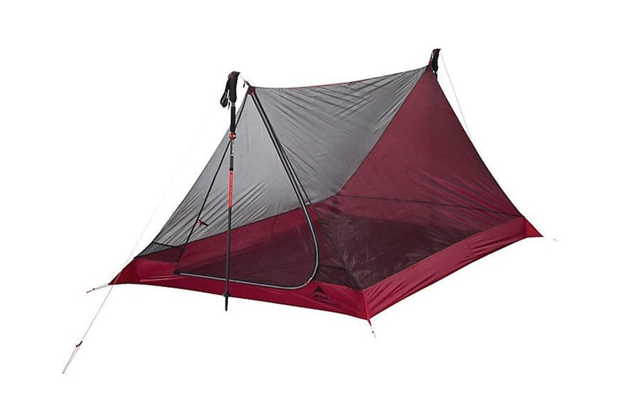 MSR Thru-Hiker Mesh House 2 Person Tent for Backpacking