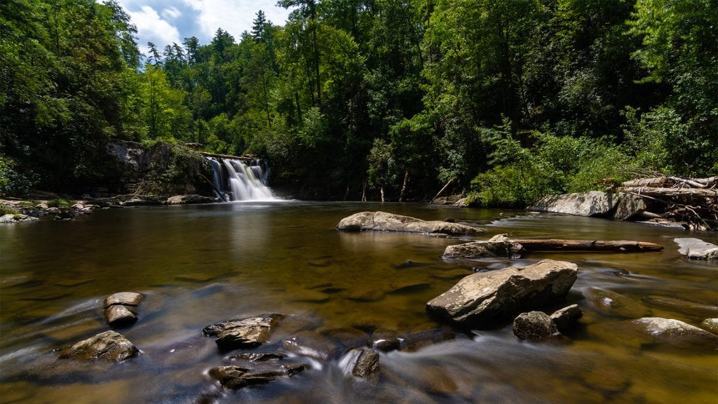 See Waterfalls in Great Smoky Mountains