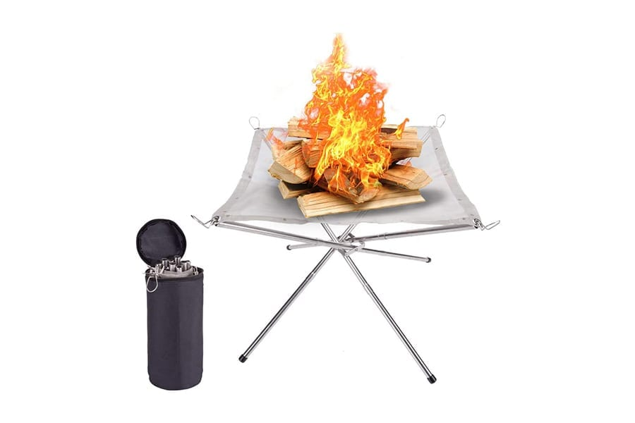 SuchDeco Portable Camping Fire Pit
