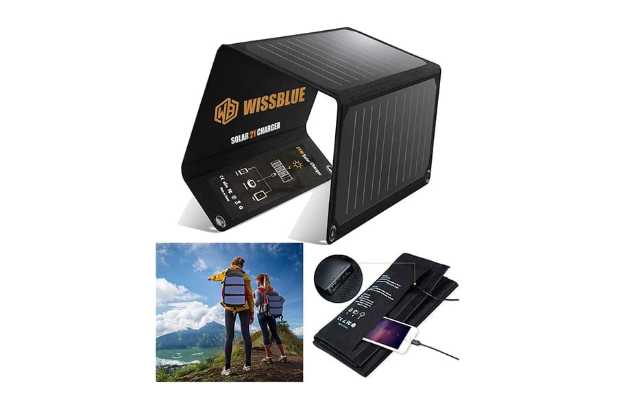 Wissblue Foldable Portable Solar Panels for Camping