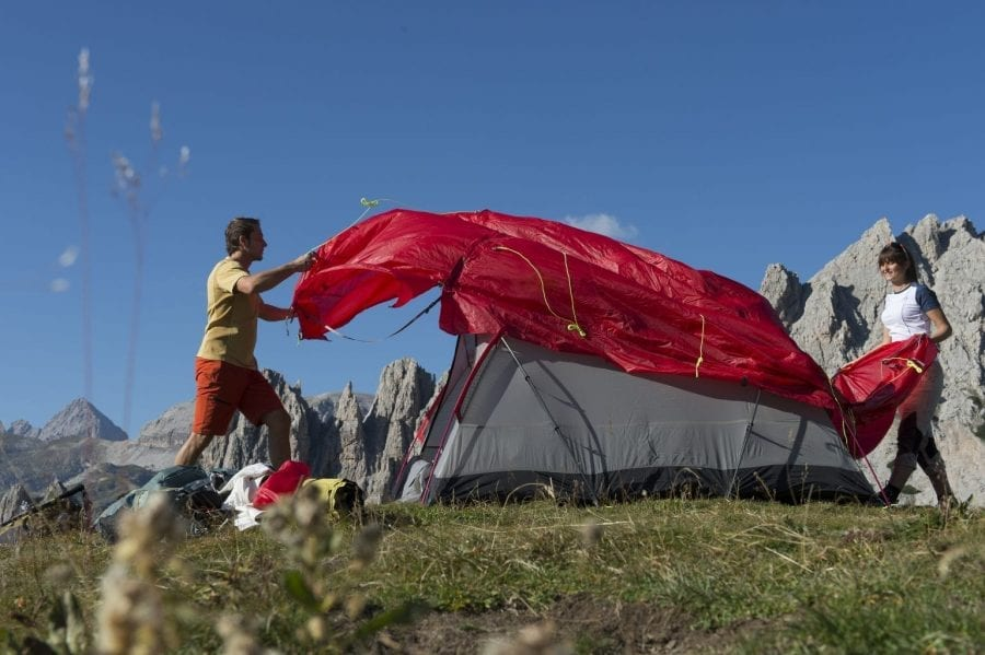 2-Person Camping Tent Set Up