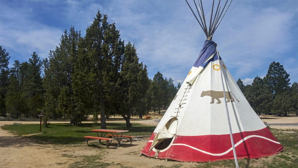 Camping in Bryce Canyon