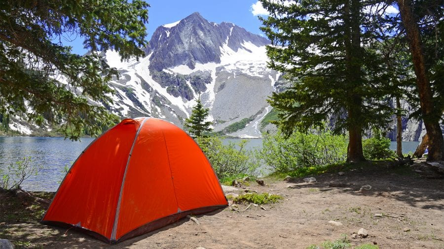 Camping in Rocky Mountain