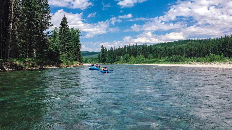 Glacier National Park - Whitewater Rafting