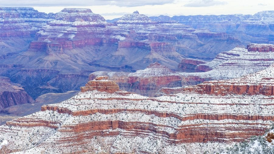 Grand Canyon National Park - Winter