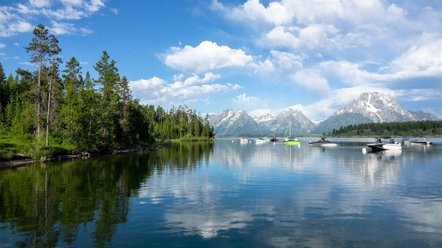 Go on a Boat Ride at Grand Teton National Park