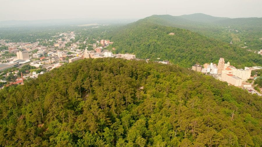 Hot Springs Mountain Tower at Hot Springs National Park