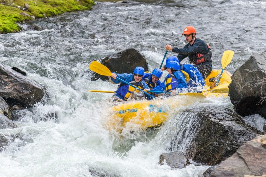Rafting in Rocky Mountain