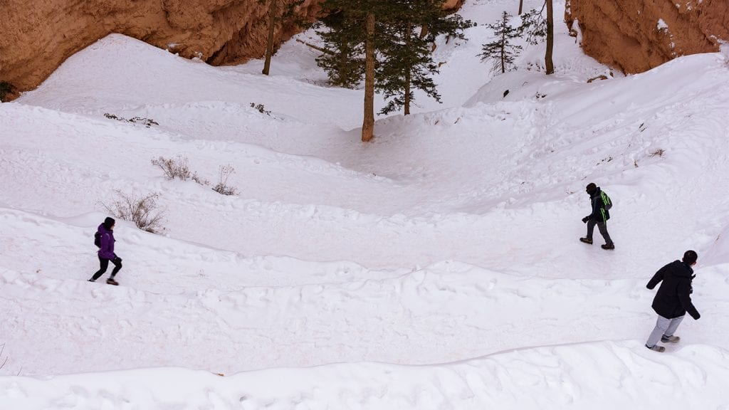 Snowsports in Bryce Canyon