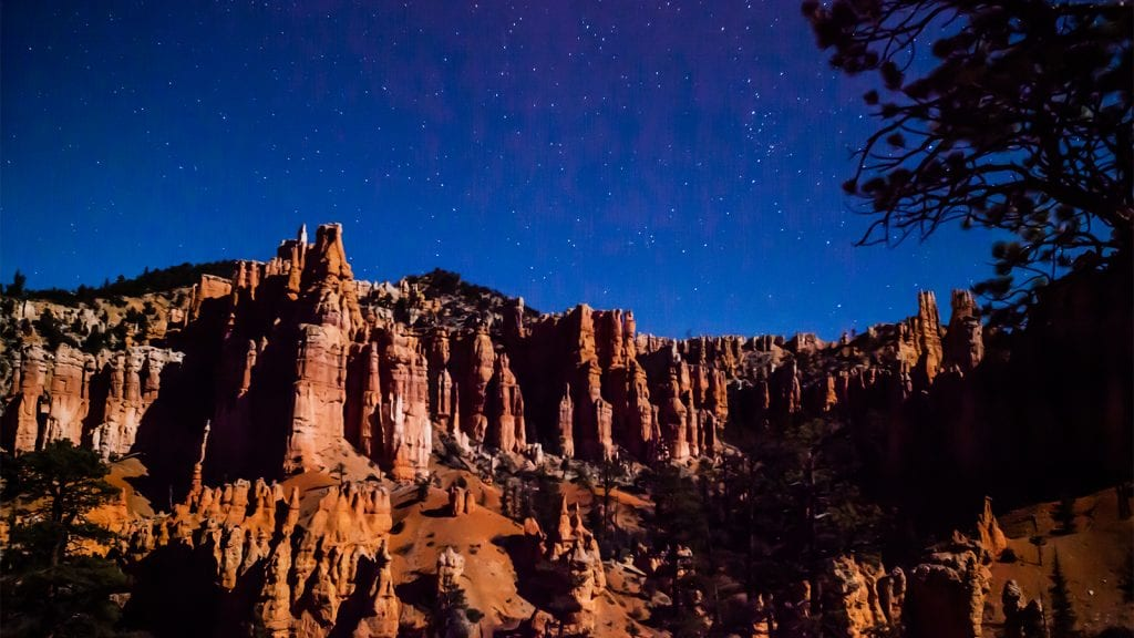 Stargazing in Bryce Canyon