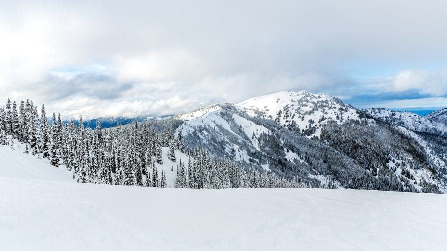 Olympic National Winter Storm