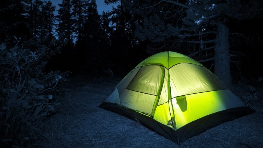 Opt for A Smaller Tent