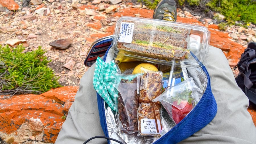 Pack more food than you need