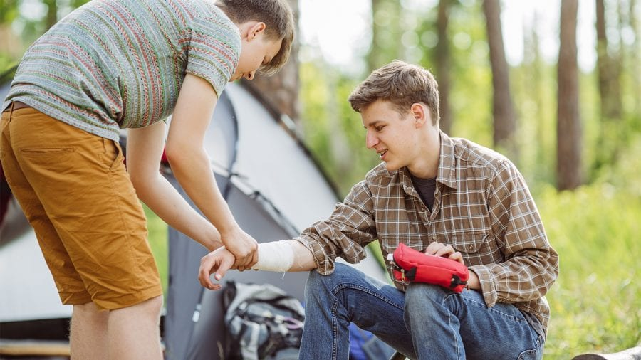Take a wilderness first aid course