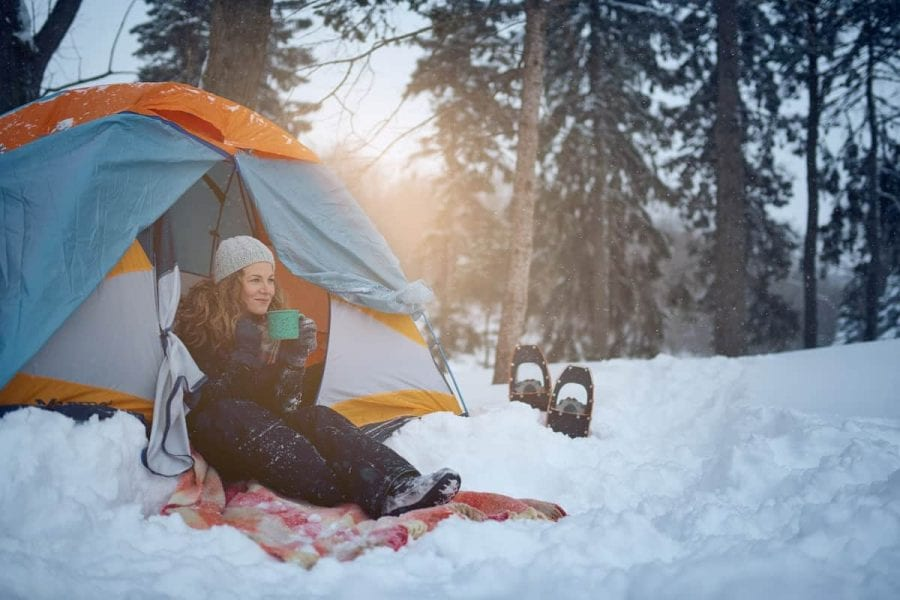 Insulate Tent for Winter Camping