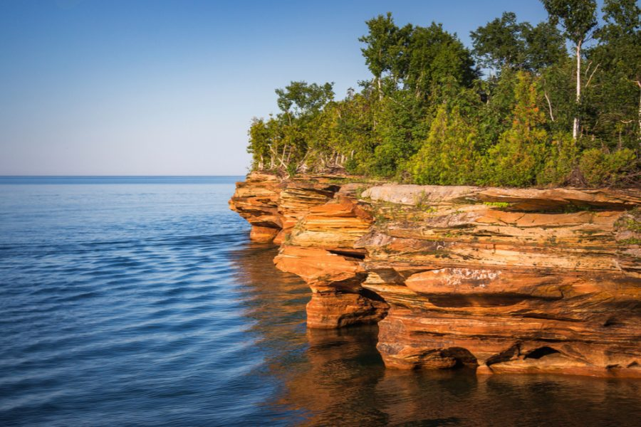 Apostle Islands National Park in wisconsin
