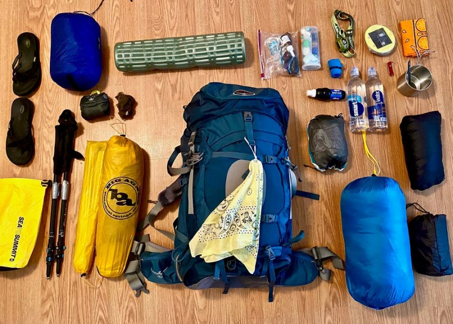 North Country Trail Gear List