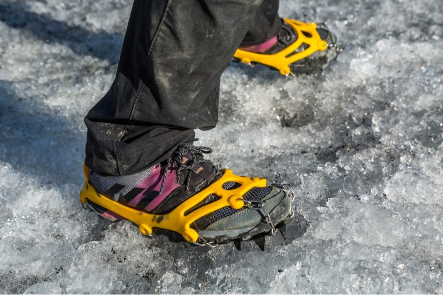 Traction device for your boots